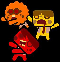 Color zombie