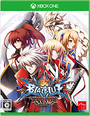 「BLAZBLUE CHRONOPHANTASMA EXTEND」XboxOneパッケージ