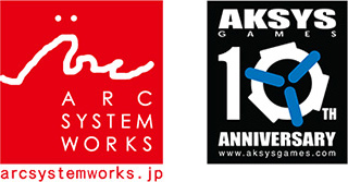「ARC SYSTEM WORKS」「Aksys Games」