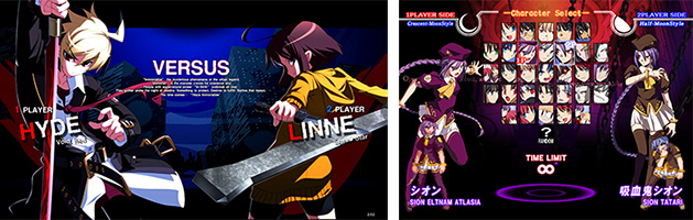 『MELTY BLOOD Actress Again Current Code』& 『UNDER NIGHT IN-BIRTH Exe:Late』