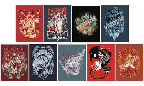 「BLAZBLUE」Eighty Sixed製Tシャツ アークシステムワークス公式グッズショップにて販売開始!