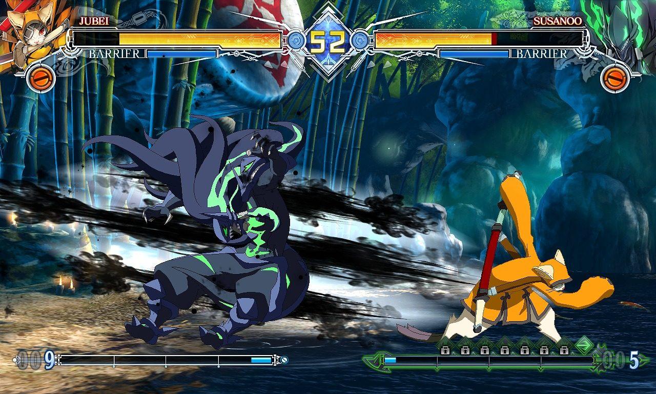 2D対戦格闘ゲーム「BLAZBLUE CENTRALFICTION」にて 最強の剣士「獣兵衛」プレイアブル参戦決定!